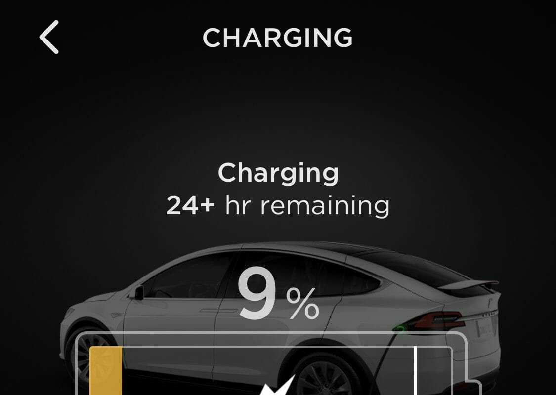 110v Charging App Screenshot